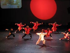 Tai Chi voor International Dance Festival 2004