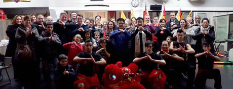 Tai Chi school Xia Quan: Chinese New Year 2015