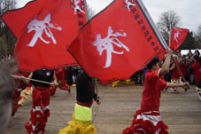 Xia Quan leeuwendans Chinese New Year 2016