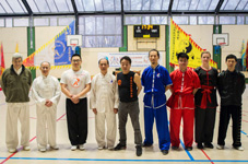 Xia Quan, Hong Quan & Tai Chi Traditional Meeting in Paris 18-03-2018