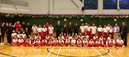 "Xia Quan girls visit ""White Crane 白鶴派"" Kung Fu Hong Kong"