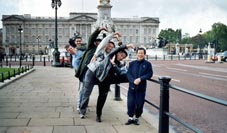 Kung Fu team in England