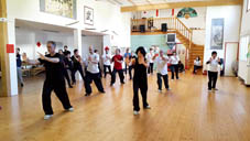 Tai Chi & Kung Fu training week in Limoges Frankrijk