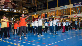 Tai Chi Workshop voor NS Netherlands