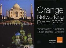 Leeuwendans, Kung Fu, Tai Chi demo & Tai Chi workshop voor Orange Networking Event 208 in Antwerp