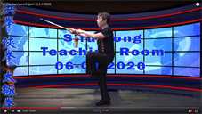 Tai Chi Jian/sword (part 2) 6-4-2020